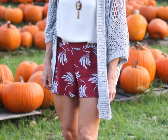 Burgundy LOFT Shorts Are The Bomb!