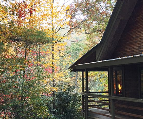 Cabin in the North Carolina Mountains