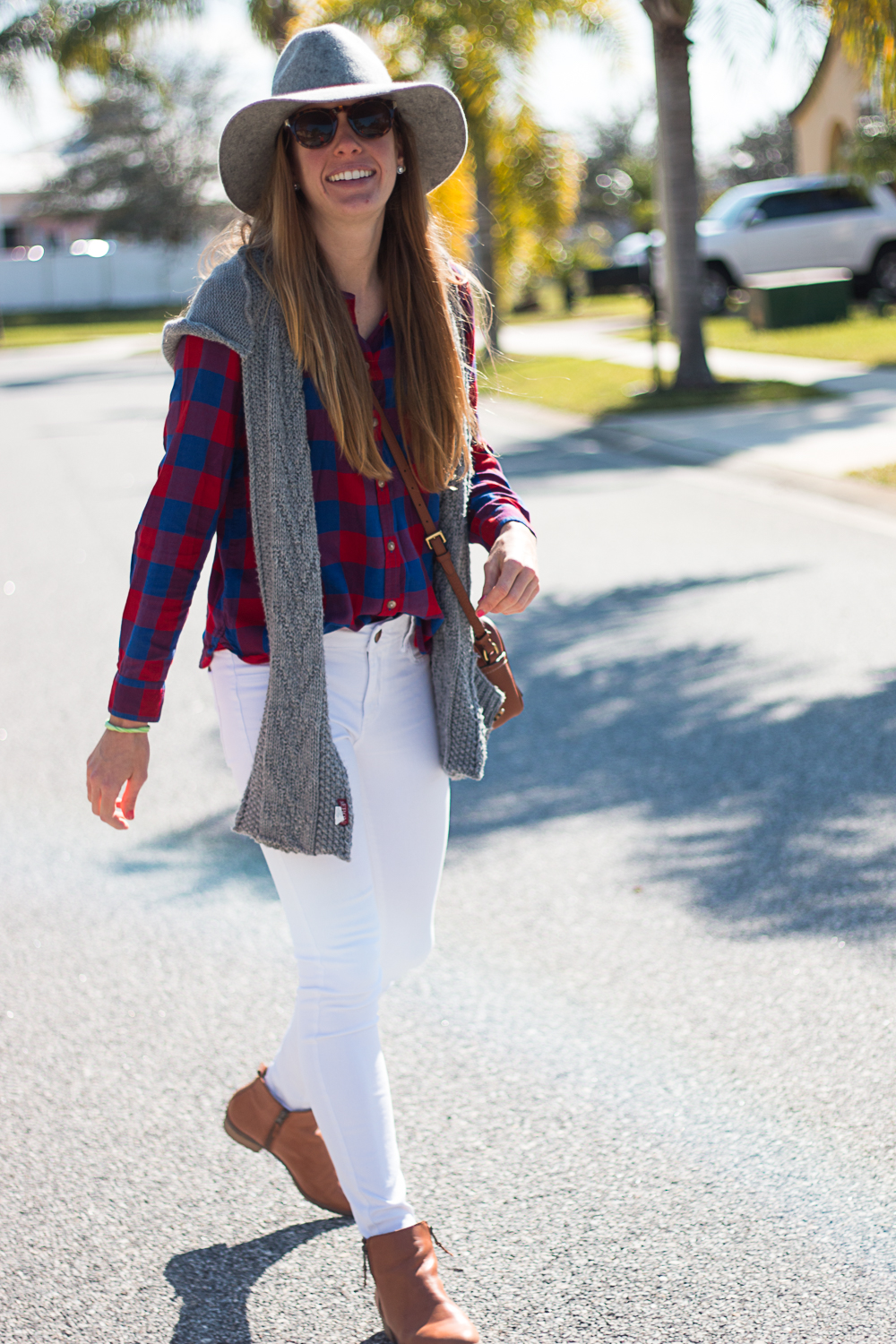 White Jeans and Plaid-6