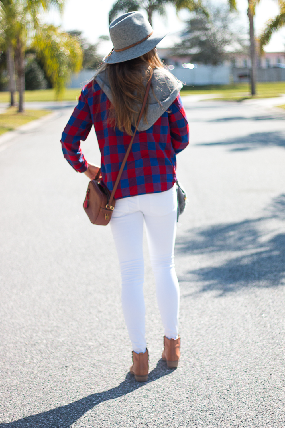White Jeans and Plaid-7