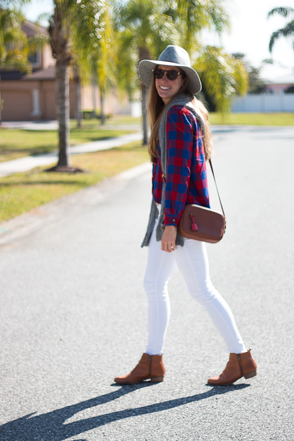 White Jeans and Plaid-8