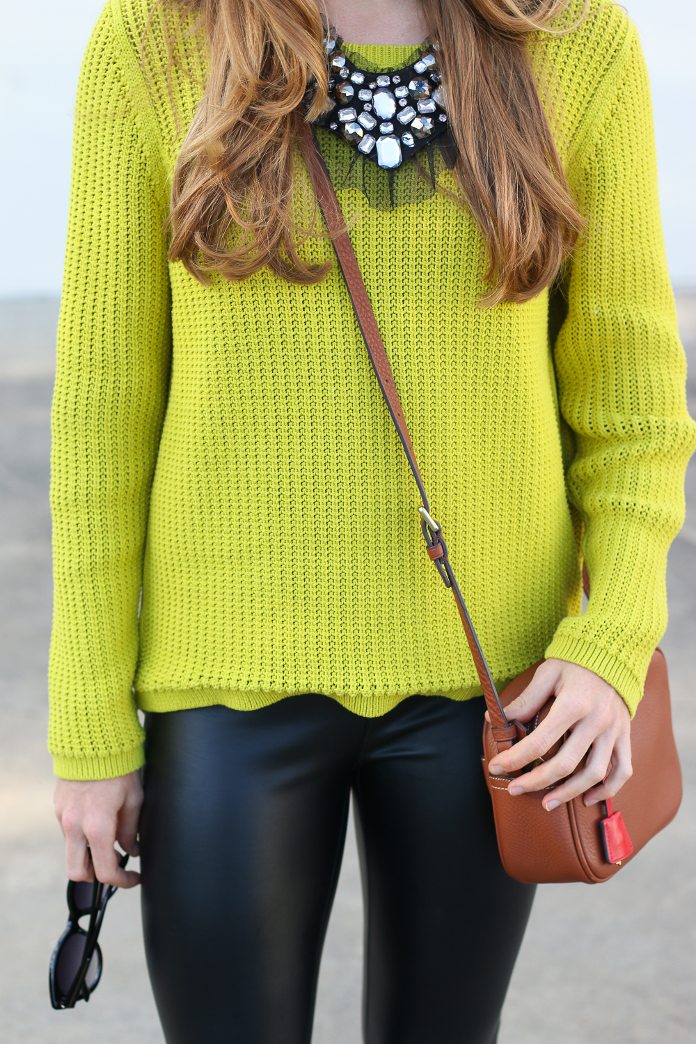 Cable Knit LOFT Sweater