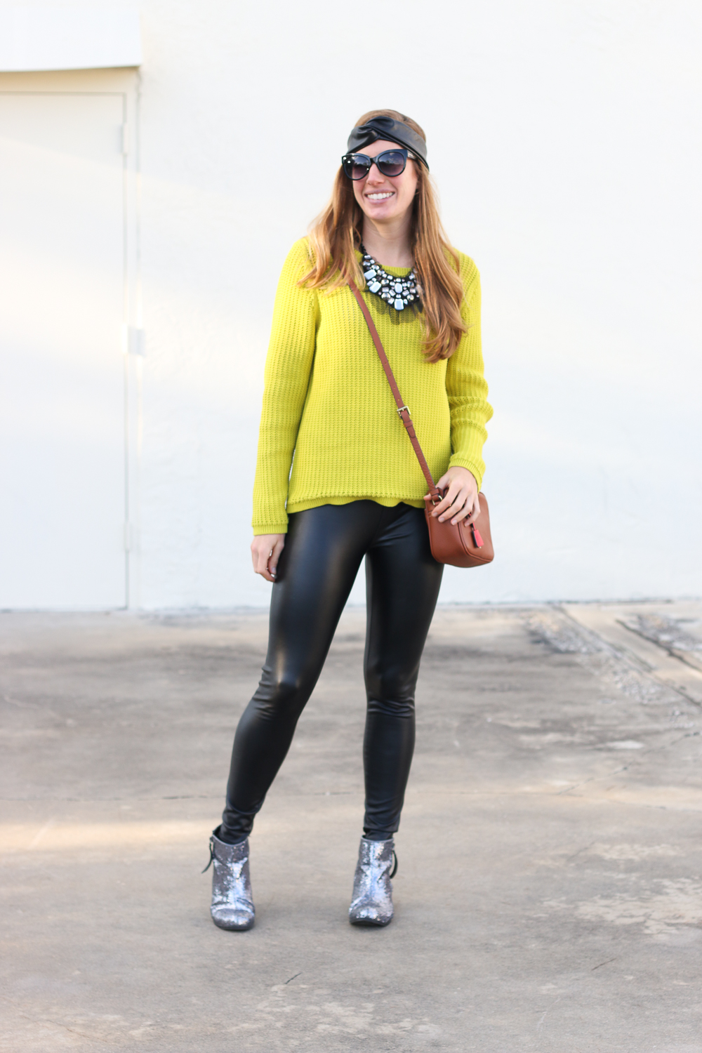 Lime Green LOFT Sweater