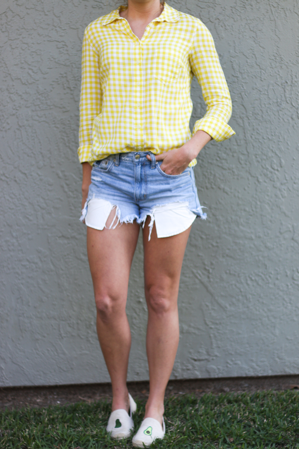 Yellow_Gingham_Button_Down-10
