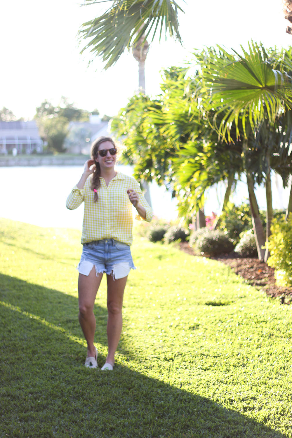 Yellow_Gingham_Button_Down-7