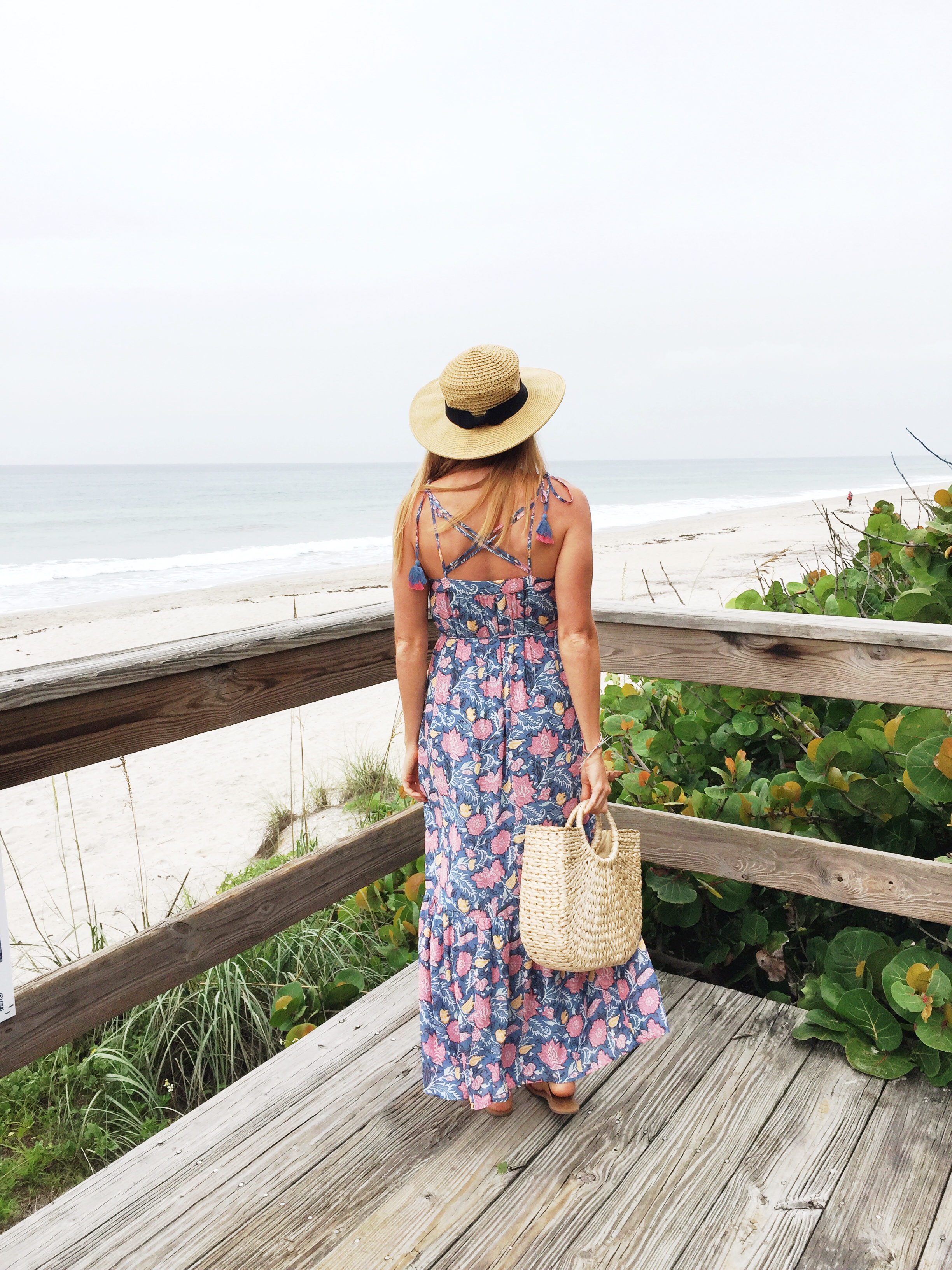 summer tassel maxi dress