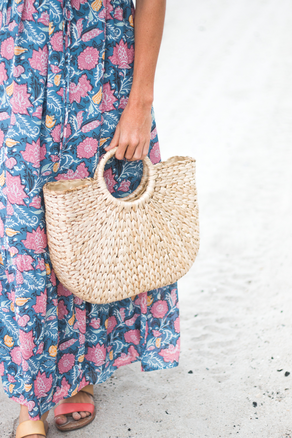 Woven Straw Tote