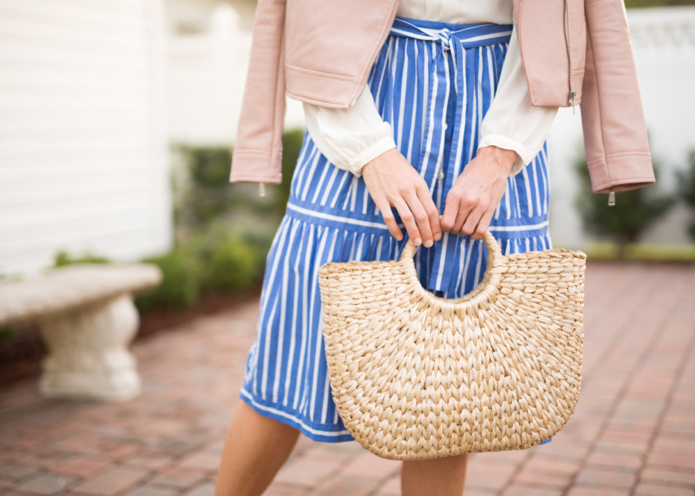 straw bags from summer to fall
