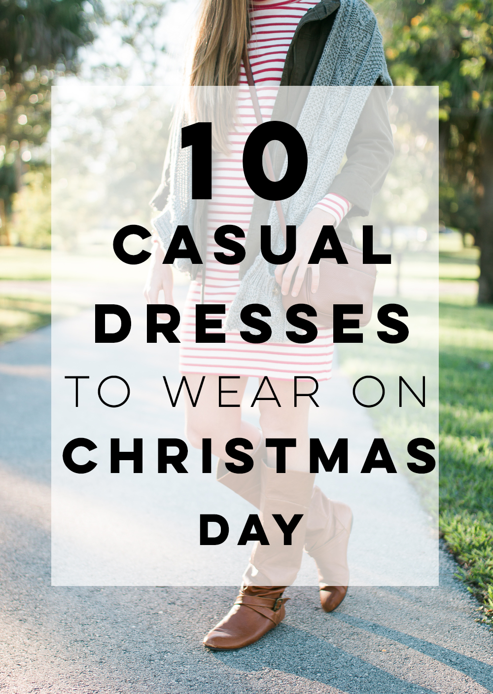 10 Casual Dresses to Wear on Christmas Day