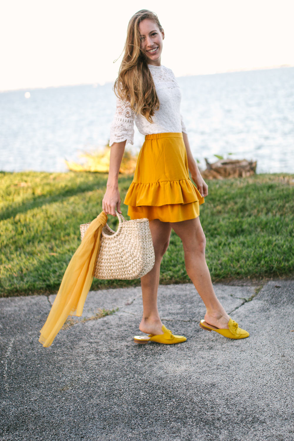Mixing and Matching Season Colors into Your Wardrobe, J.Crew Skirt