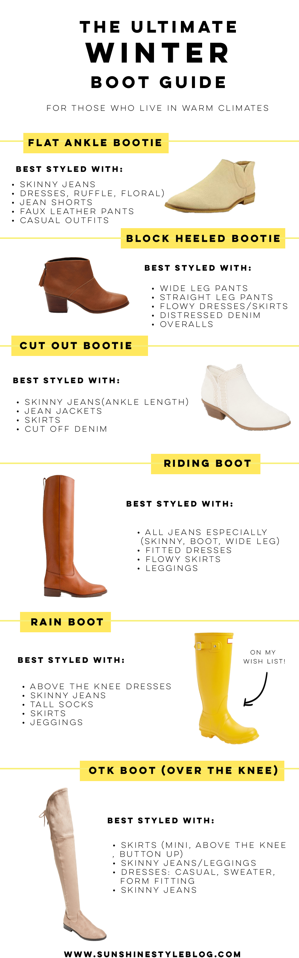 The Ultimate Winter Boot Guide: How to Wear and Style Boots in the Winter + Winter Outfit Ideas