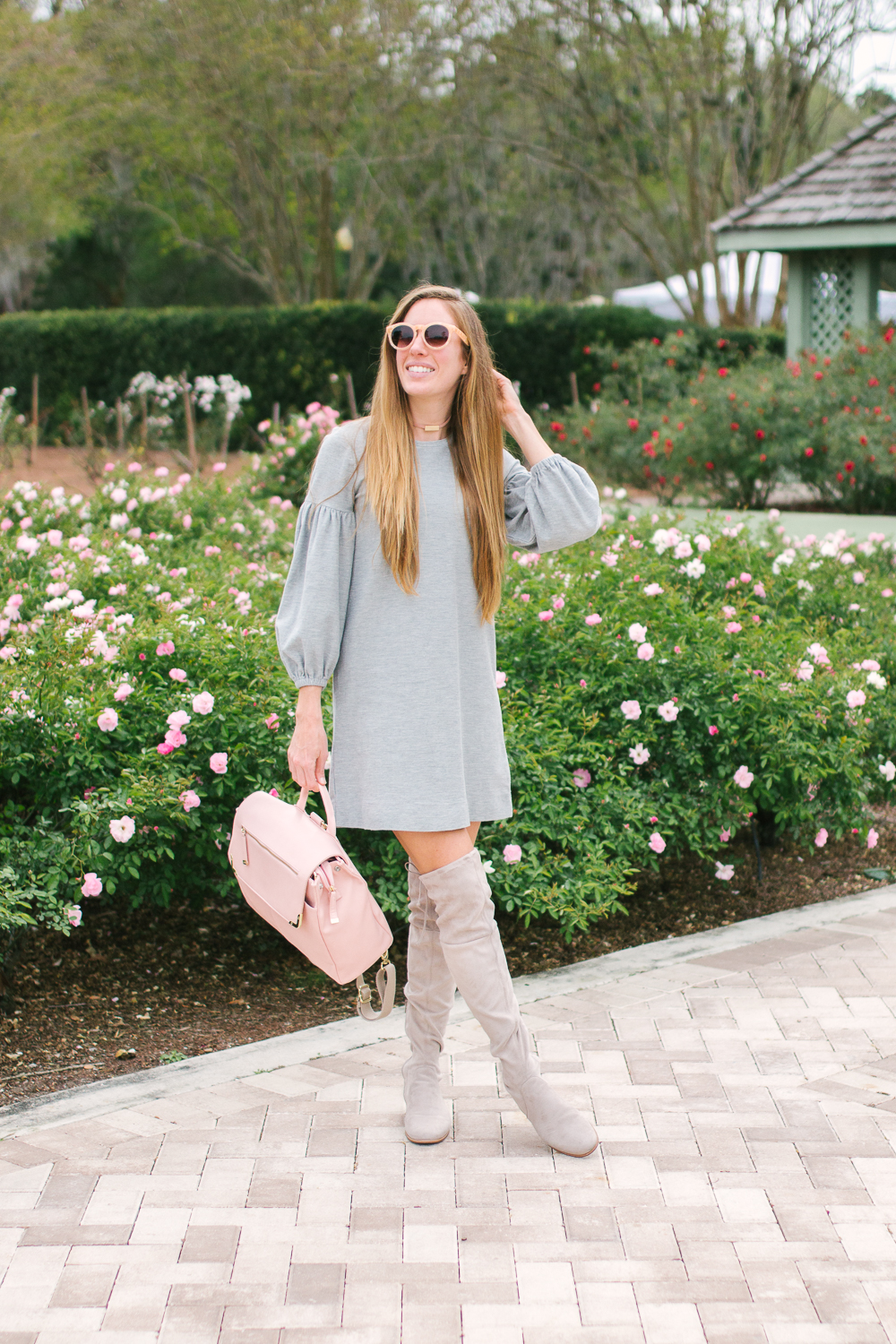 5c304f7edf1 10 Simple Grey Dresses You Can Wear All Year - Sunshine Style