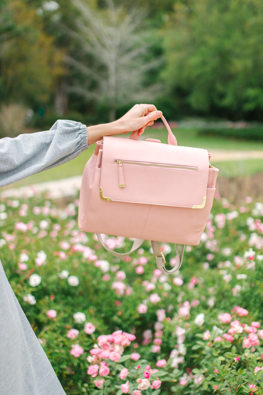 Kelly Moore X A Beautiful Mess Pink Camera Bag 3 in 1 | Sunshine Style