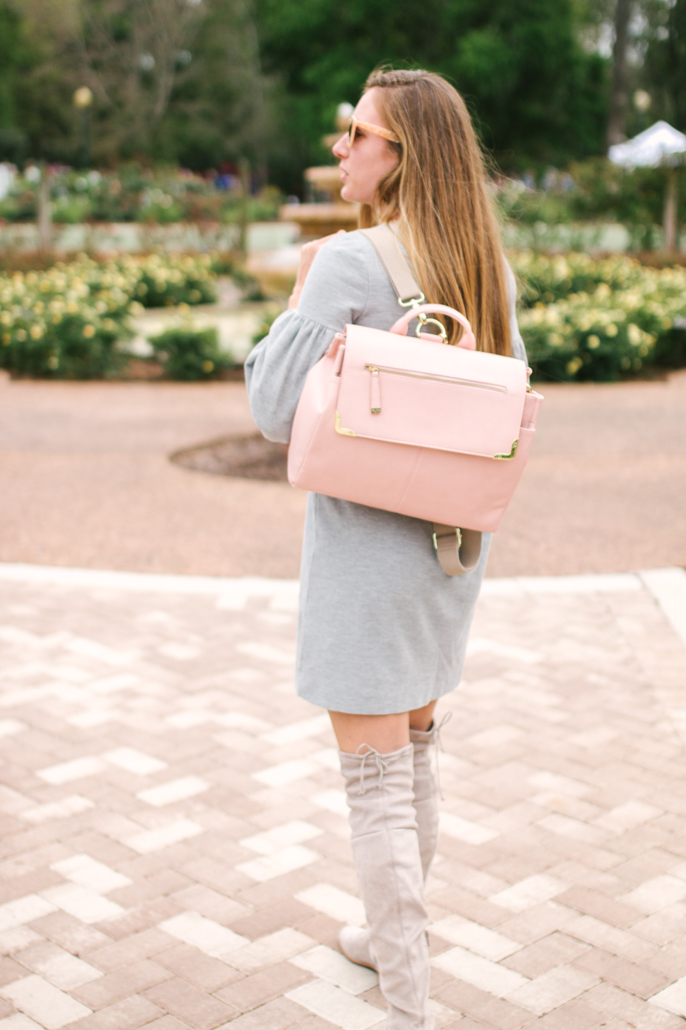 10 Simple Dresses to Wear with Boots, Cold Weather Outfit Inspiration, Fall Outfit Inspiration | Sunshine Style