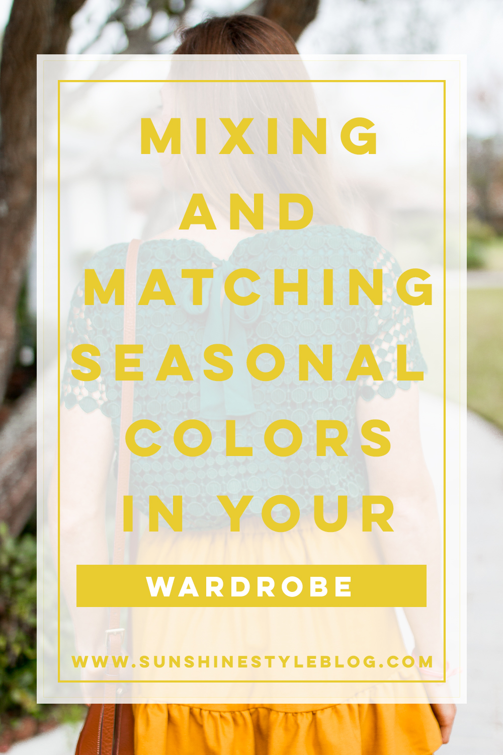Mixing and Matching Seasonal Colors into Your Wardrobe | How to Dress for Fall | How to Incorporate Fall Colors in Your Wardrobe | Fall Outfit Ideas 2018 - Sunshine Style