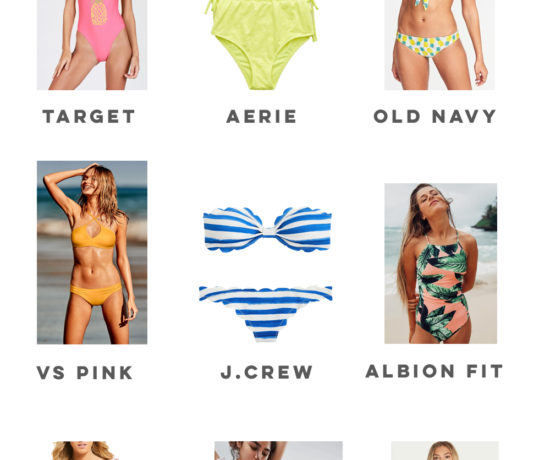 Swimsuit Shopping Guide: Where to Shop for Cute and Affordable Swimsuits