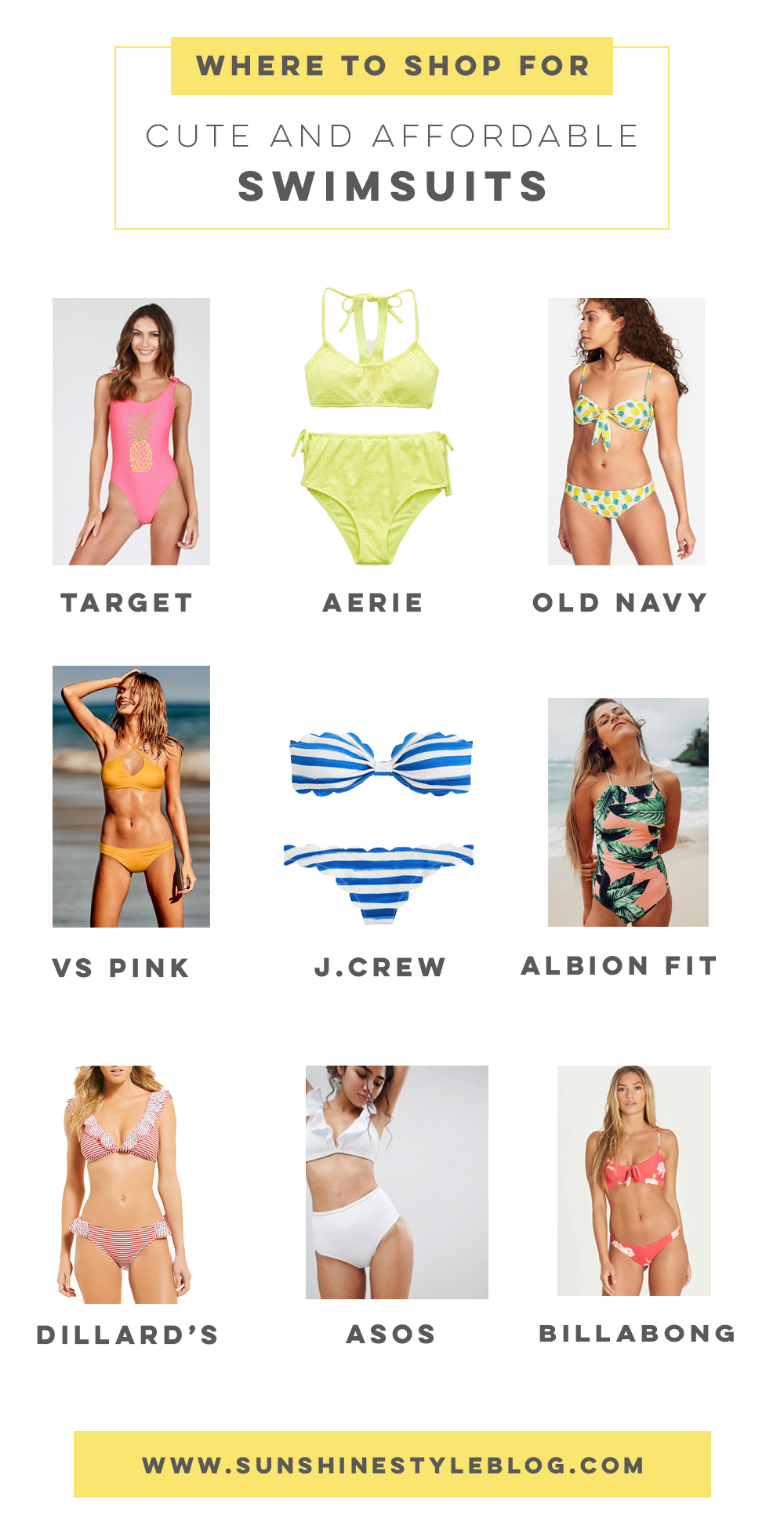 c5f21a03a6704 Swimsuit Shopping Guide  Where to Shop for Cute and Affordable Swimsuits