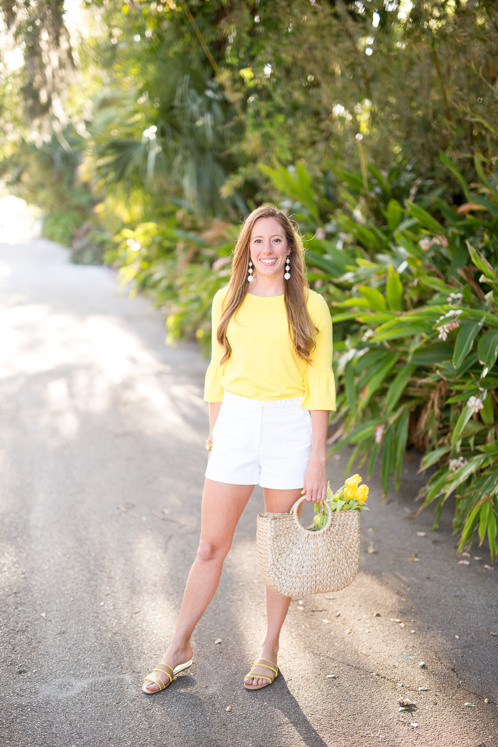 A Classy and Bright Spring Outfit - Sunshine Style