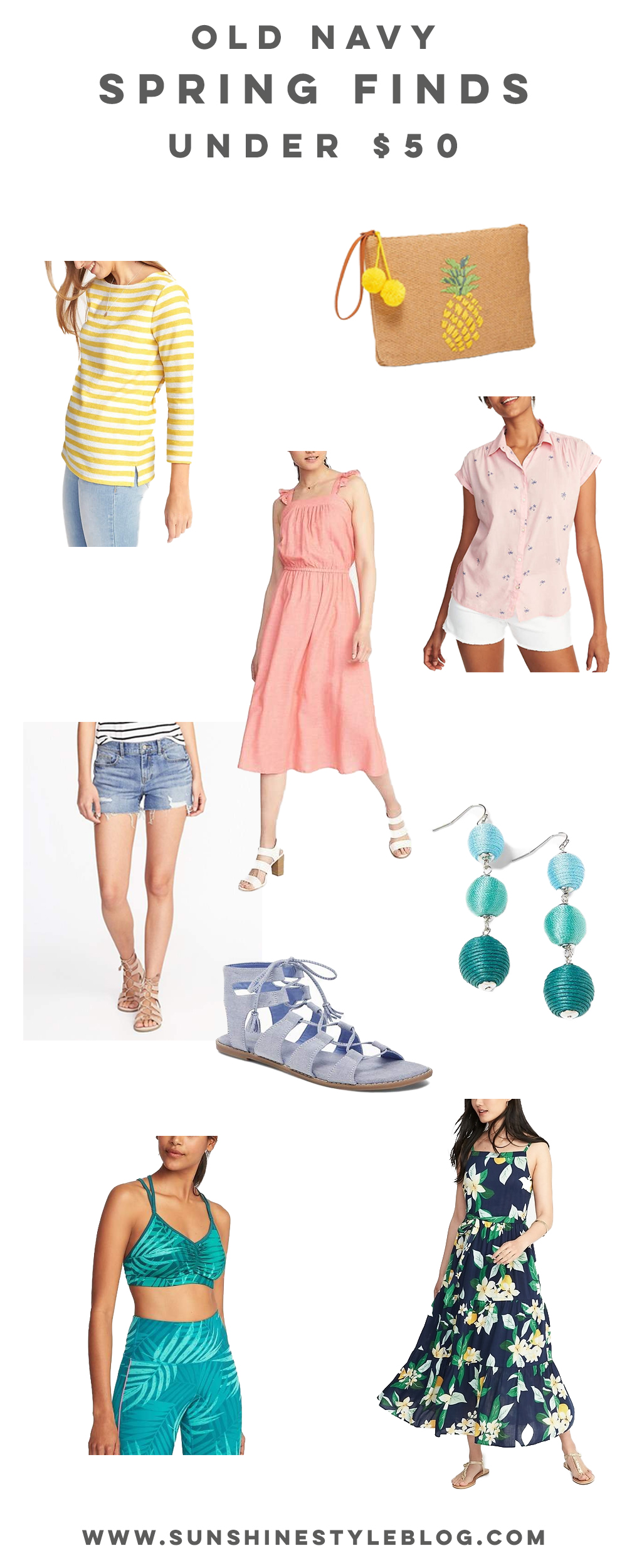 The Best Old Navy Spring Finds Under $50. If your on a budget, these cute spring pieces won't break the bank.