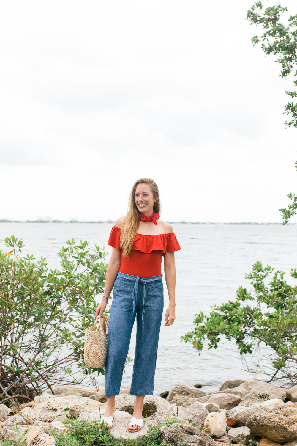 How to Style Casual Wide Leg Pants for Summer