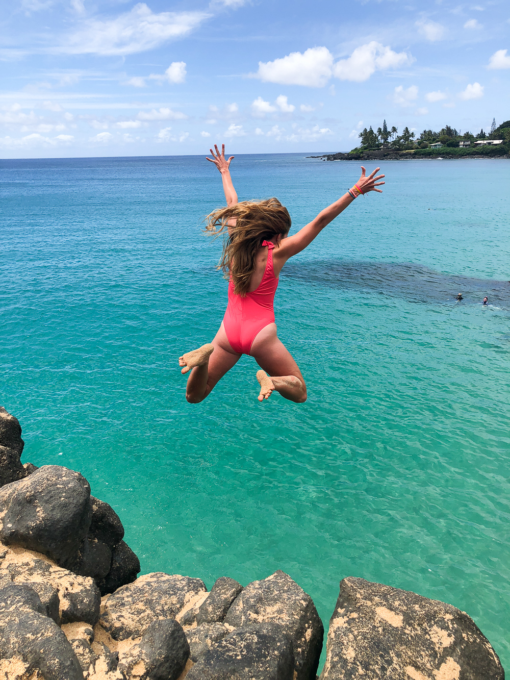 Waimea Bay Rock Jump - North Shore, Oahu | Sunshine Style