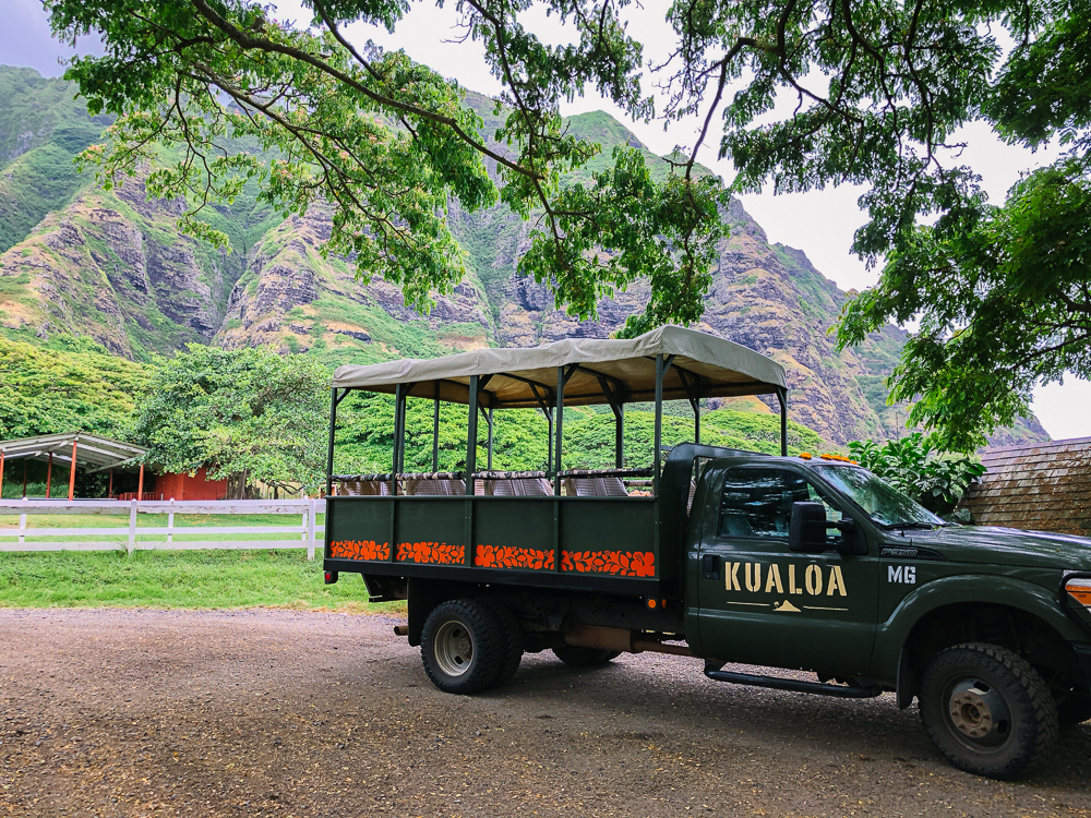 The Ultimate Oahu Travel Guide for the Adventurer - Kualoa Ranch Jeep Expedition | Sunshine Style