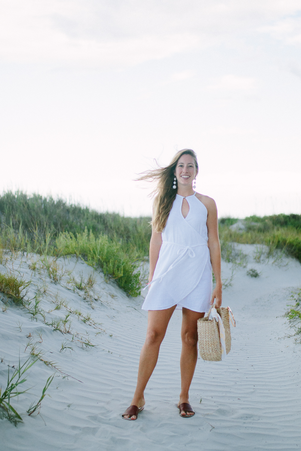 White Sundresses for Summer Beach Vacations | Sunshine Style