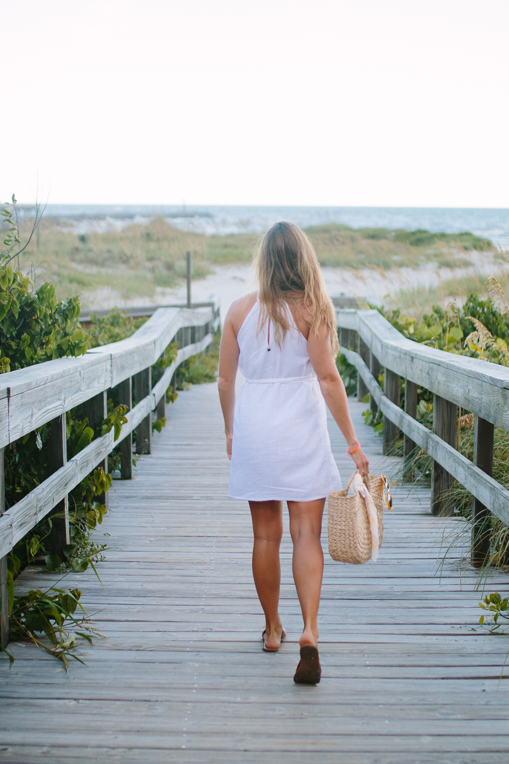 White Sundresses for Summer Vacations | Sunshine Style