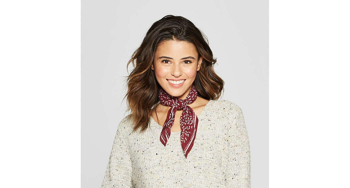 Target Fall Finds Under $50, Fall Outfit Inspiration, Fall Outfit Idea, Bandana Scarf, Under $50 - Sunshine Style