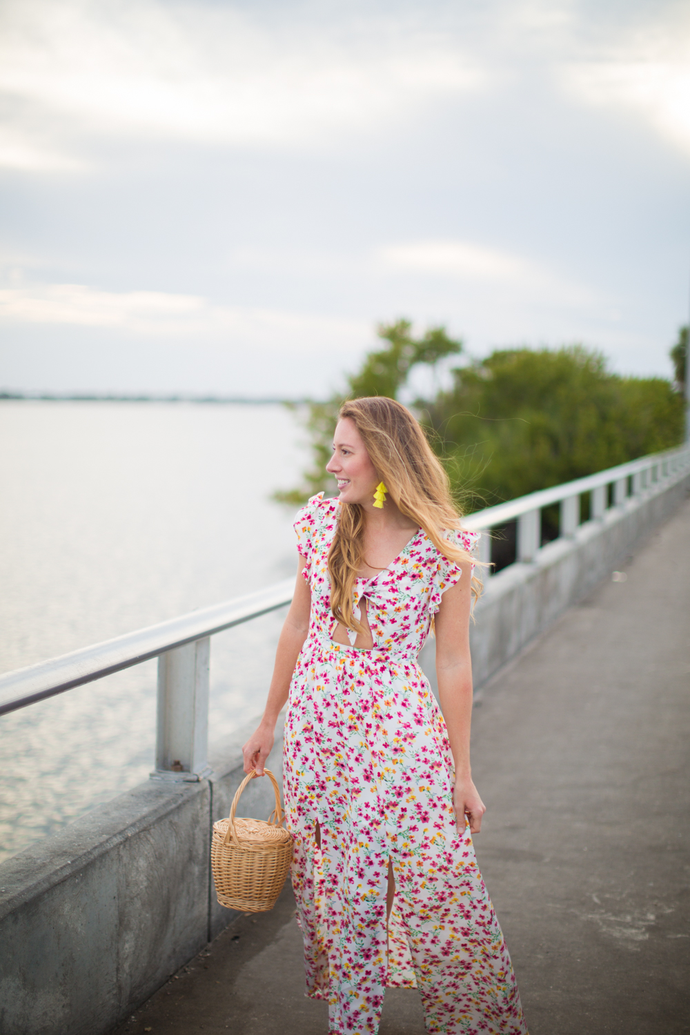 Floral Dresses for Spring / How to Style a Floral Dress / What to Wear on a Warm-Weather Vacation - Sunshine Style: A Florida Based Fashion Blog