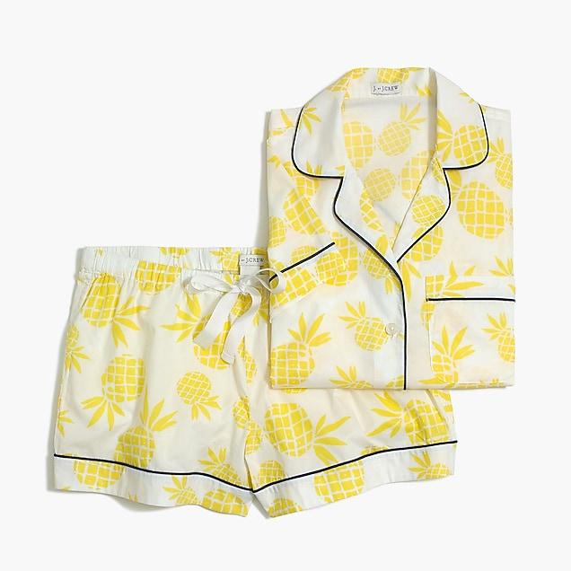 J.Crew Factory 24 Hour Flash Sale / Pineapple Pajamas