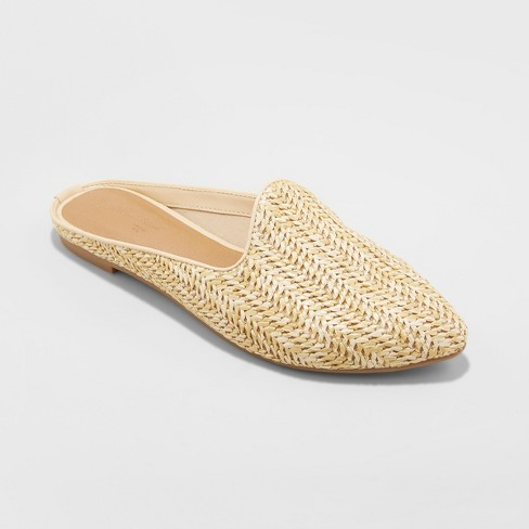 Target Woven Backless Mule Under $25
