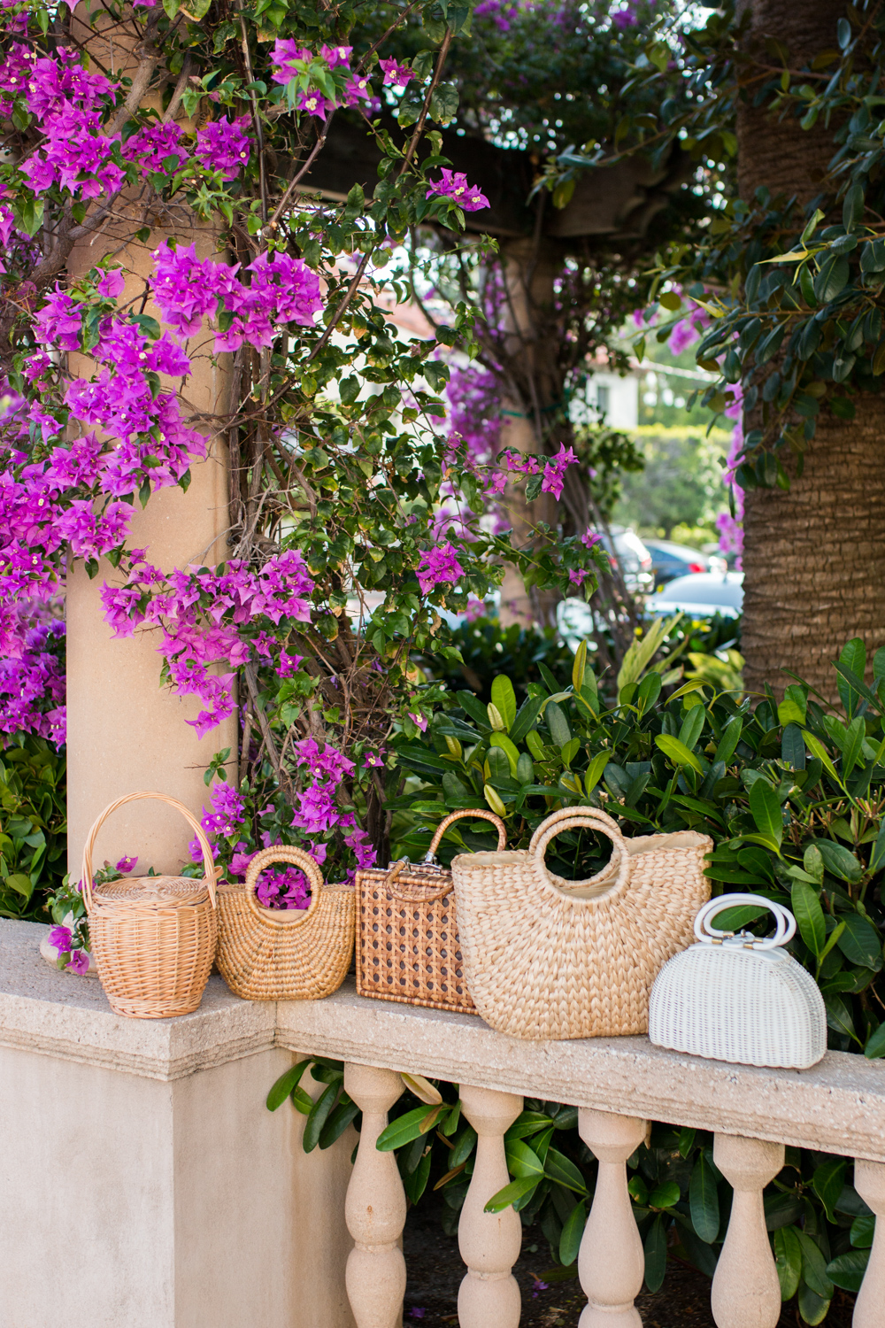 Basket Bags in West Palm Beach, Florida - Sunshine Style