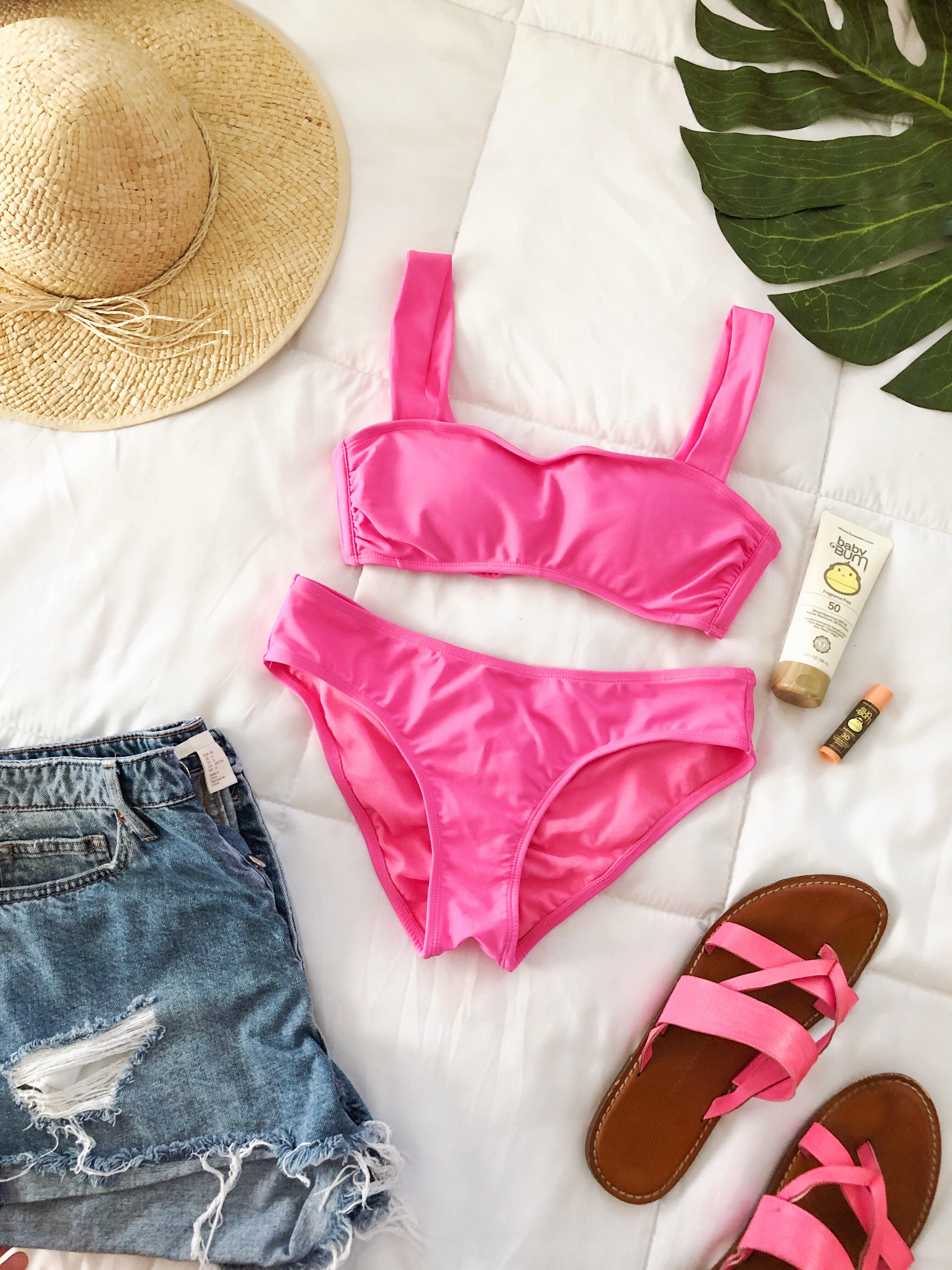 Pink Swimsuits for Summer | Summer Swimsuits 2019 | Summer Swimwear #beach #bikini #swimsuit #summer