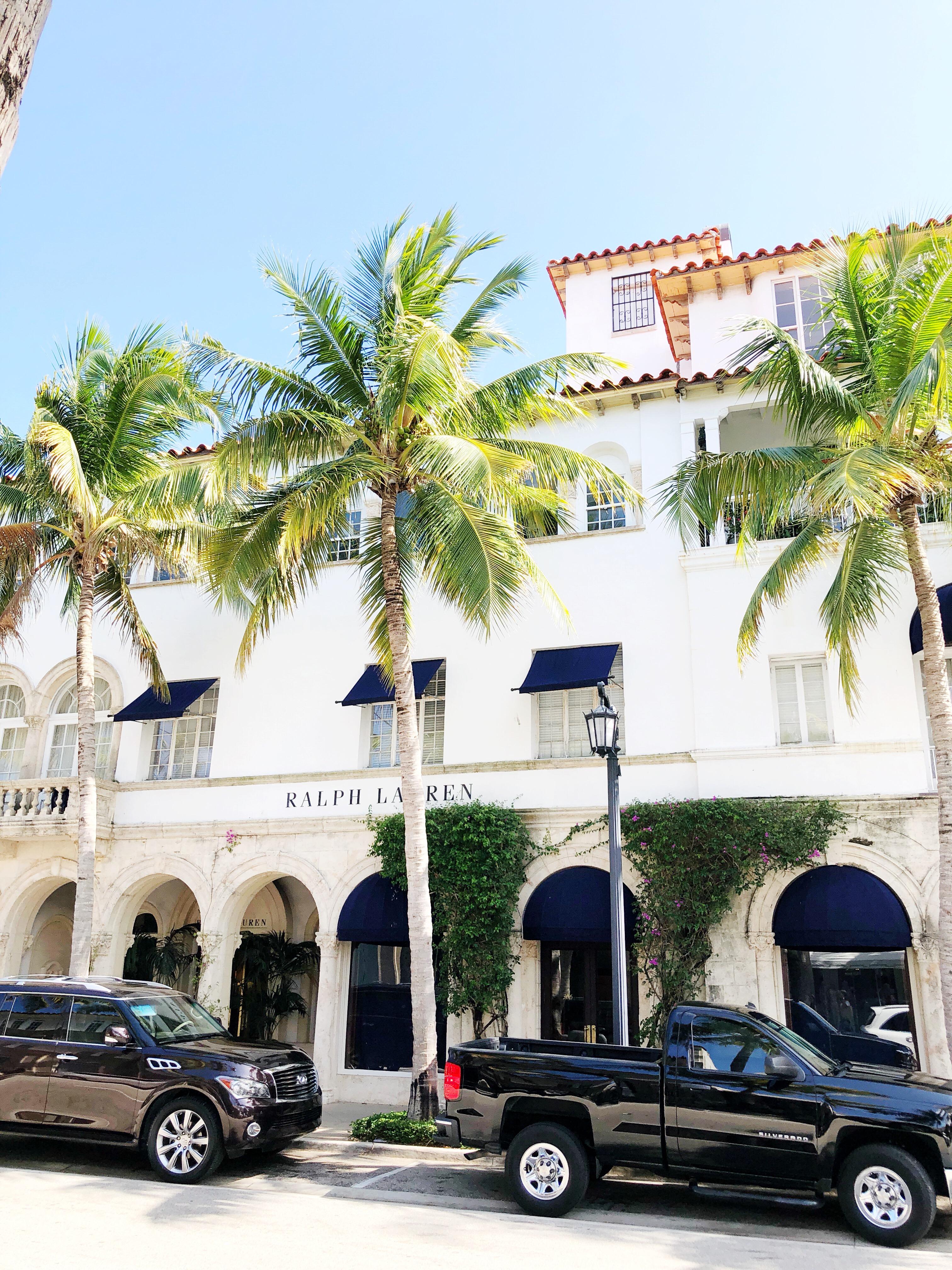 Ralph Lauren Palm Beach, Florida / West Palm Beach, Florida / Coastal and Beach Town - Sunshine Style