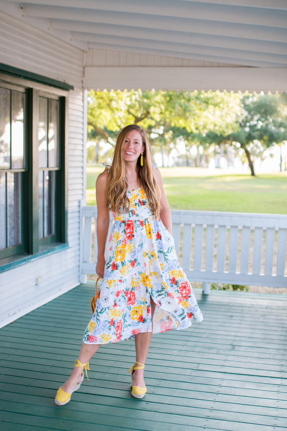 Floral Midi Dresses for Summer - Sunshine Style