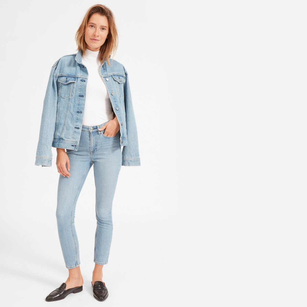 Everlane Choose What You Pay / High Rise Skinny Jean - Sunshine Style, A Florida Based Fashion Blog