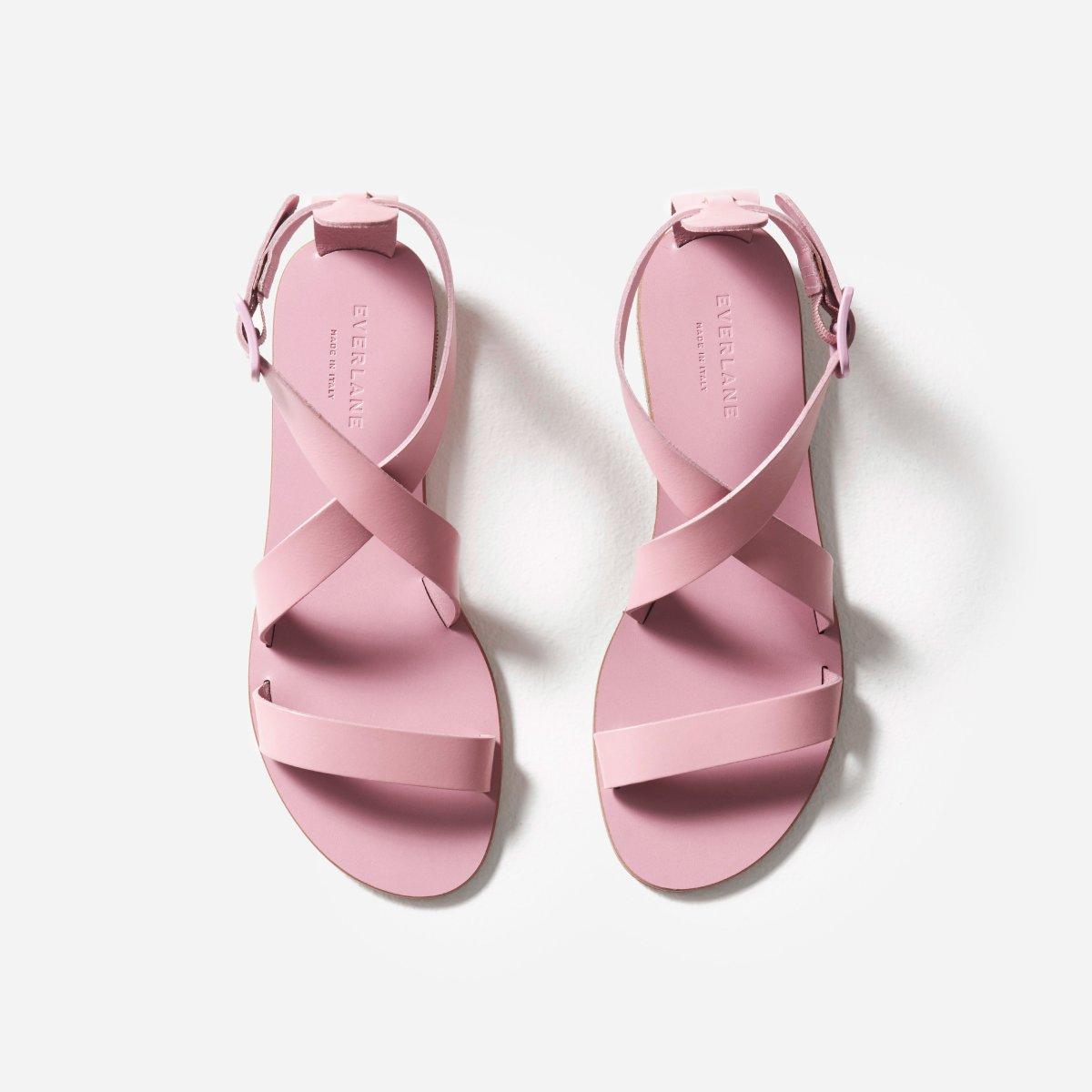 Everlane Choose What You Pay / Pink Wrap Sandal - Sunshine Style, A Florida Based Fashion Blog