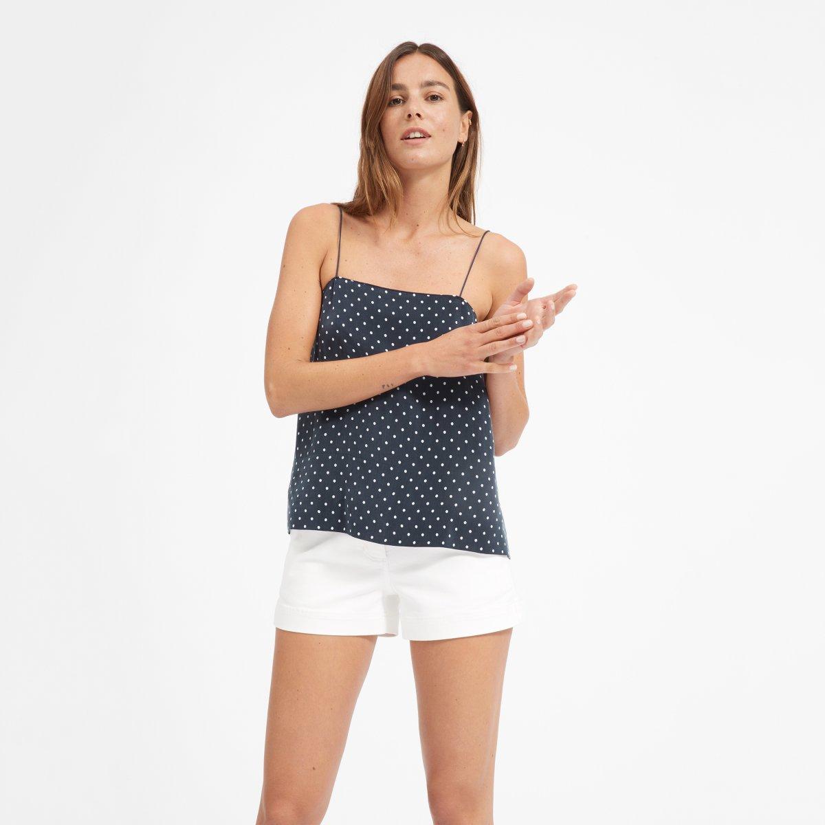 Everlane Choose What You Pay / Polka Dot Cami - Sunshine Style, A Florida Based Fashion Blog