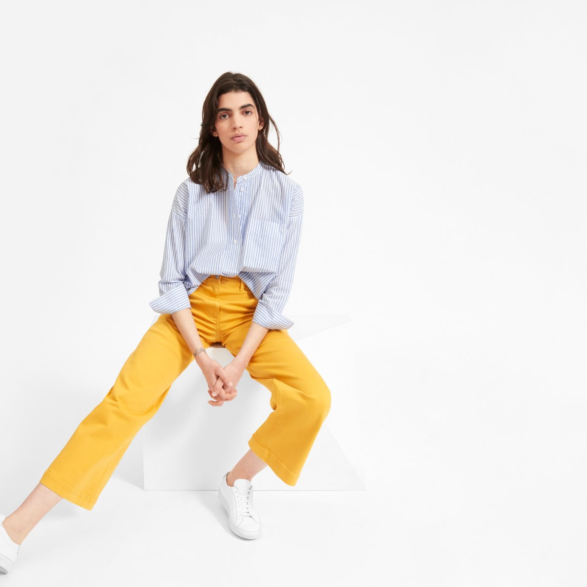 Everlane Choose What You Pay / Cotton Shirt - Sunshine Style, A Florida Based Fashion Blog