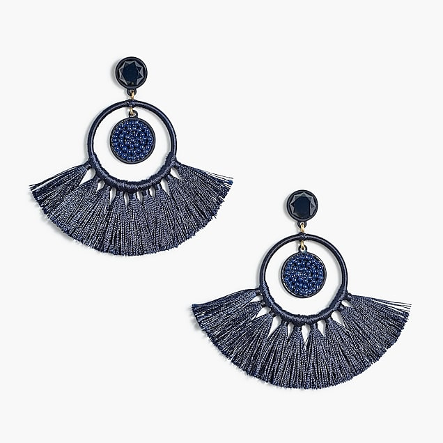 Statement Earrings J.Crew Factory / Sunshine Style - A Florida Fashion Blog