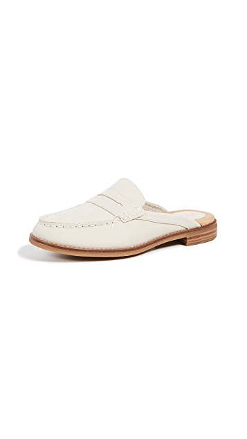 Sperry White Backless Loafer - Sunshine Style