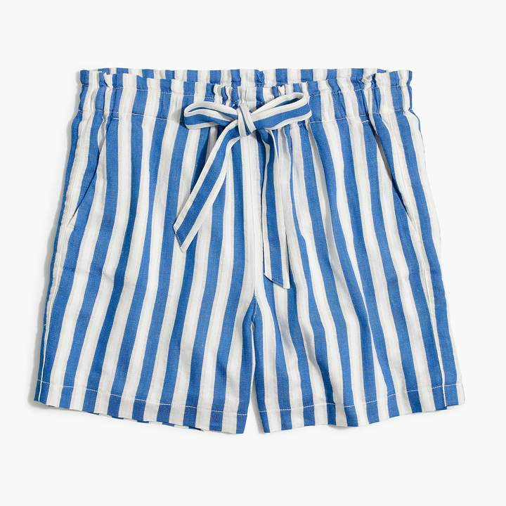 J.Crew Summer Striped Shorts - Sunshine Style, A Florida Fashion Blog
