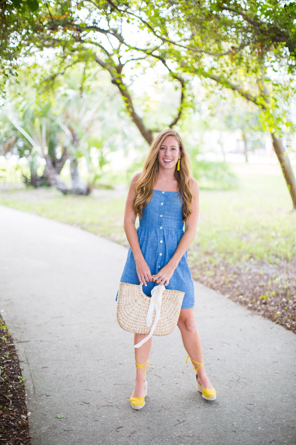 Affordable Chambray Button Up Dresses for Summer - Sunshine Style