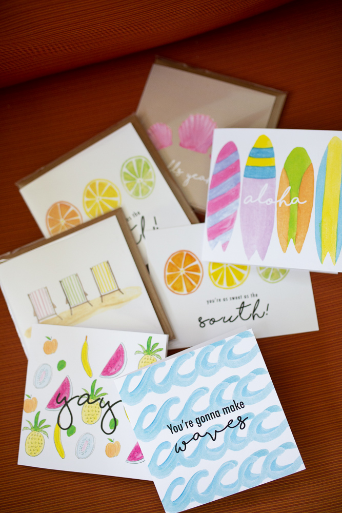 An Easy Way to Add Happiness to Someones Day / How to Add Joy to Someones Day / Island Haus Co. / Greeting Cards - Sunshine Style, A Florida Based Lifestyle and Fashion Blog