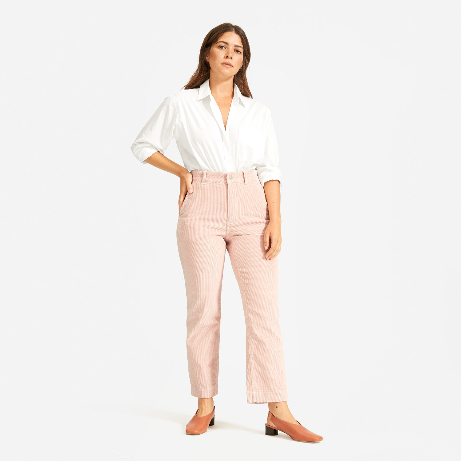 Everlane Corduroy Crop Pants / Fall Trends- Sunshine Style, A Florida Based Fashion Blog