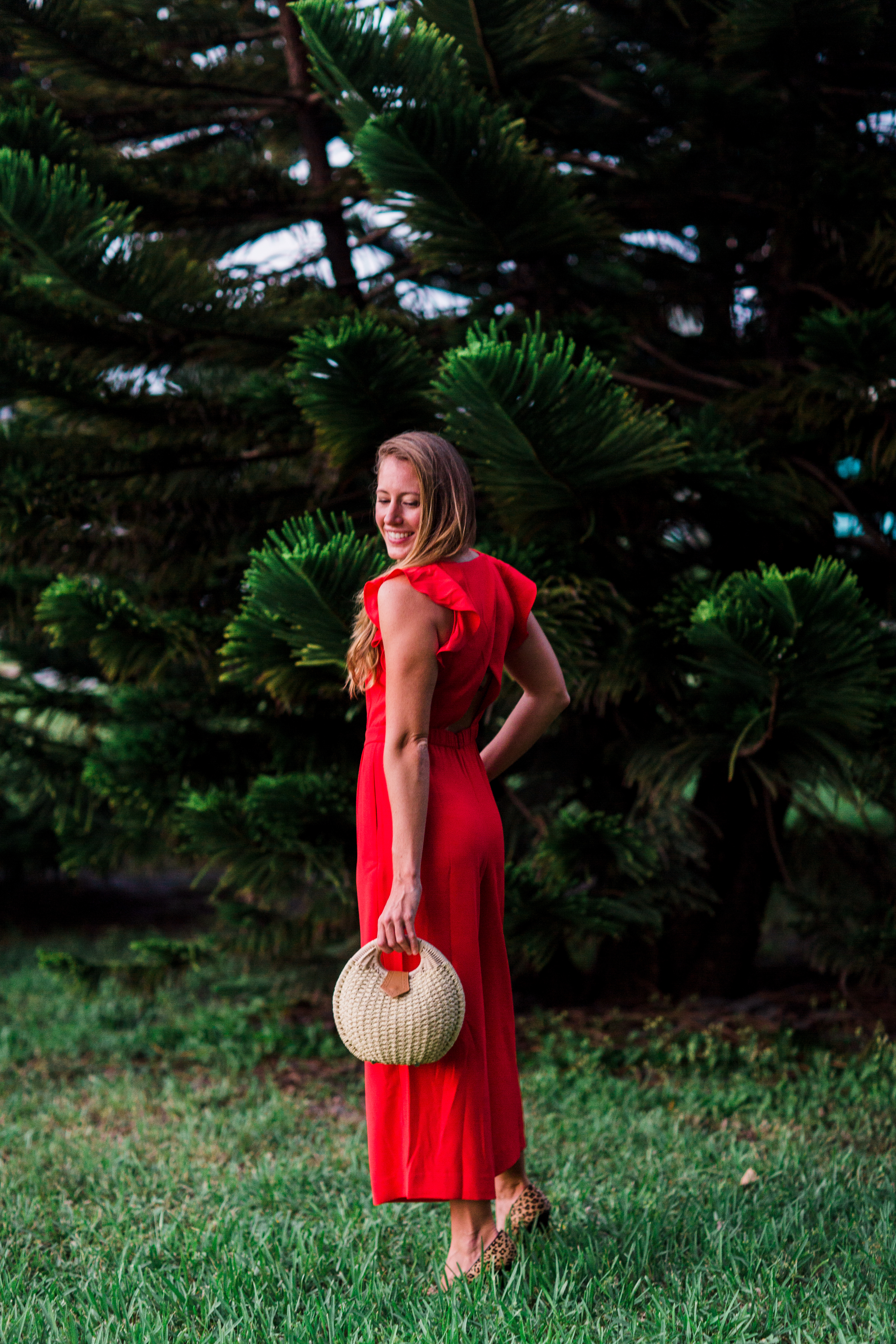 A Festive J.Crew Jumpsuit for Christmas / How to Style a Jumpsuit / How to Style a Jumpsuit for the Holidays / What to Wear to an Office Party / What to Wear on Christmas - Sunshine Style