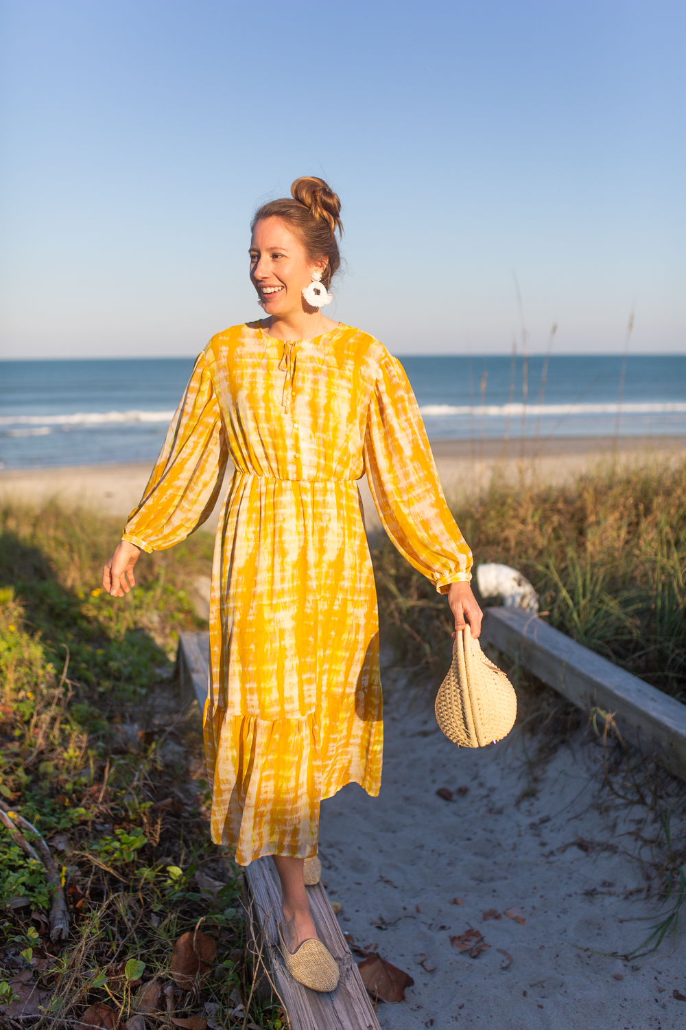 Bright Spring Dresses for Everyday / Yellow Spring Dresses / Bright Dresses to Add Happiness To Your Day / Spring Dress Inspiration / What to Wear on a Tropical Vacation - Sunshine Style, A Florida Fashion and Lifestyle Blog by Katie