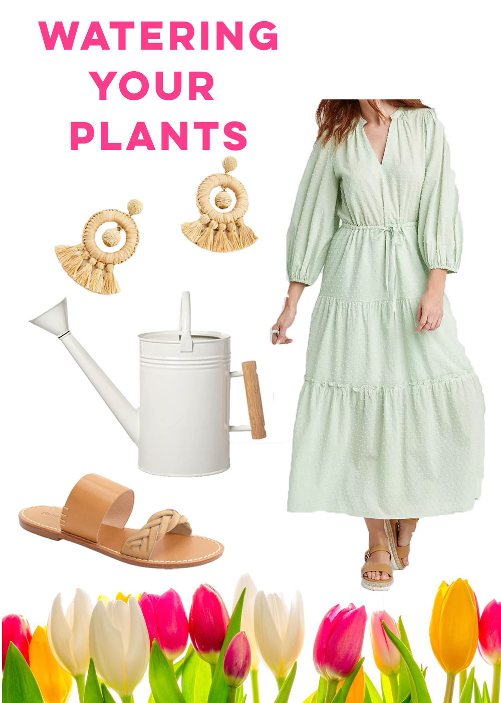 What to Wear While At Home / What to Wear During a Movie Night / Women Matching Pajama Set / What to Wear Watering Plants / What to Wear For A Bike Ride / Long SLeeve Maxi Dress - Sunshine Style, A Florida Based Fashion and Lifestyle Blog
