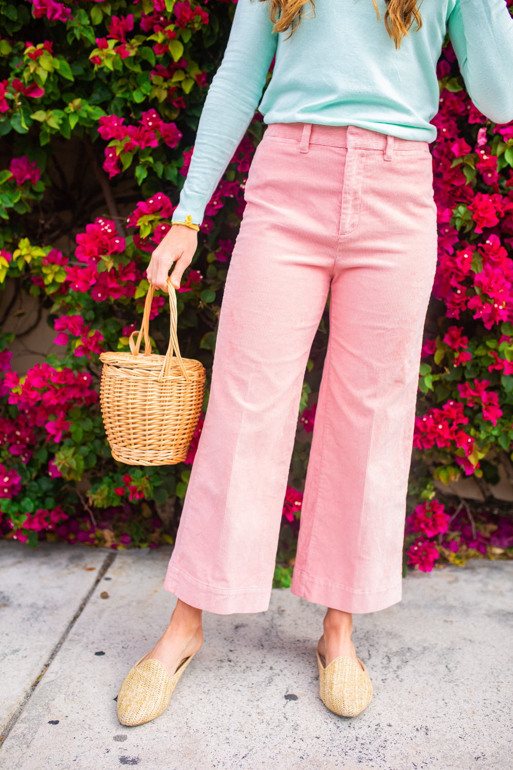 An Easy At Home Easter Outfit / What to Wear on Easter / Easter Outfit Ideas / Pastel Spring Outfit Idea - Sunshine Style, A Florida Fashion and Lifestyle Blog